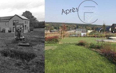 Clément Furdelle - Architecte paysagiste - Chantier Waillet