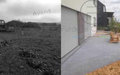 Clément Furdelle - Architecte paysagiste - Chantier Post (Attert)